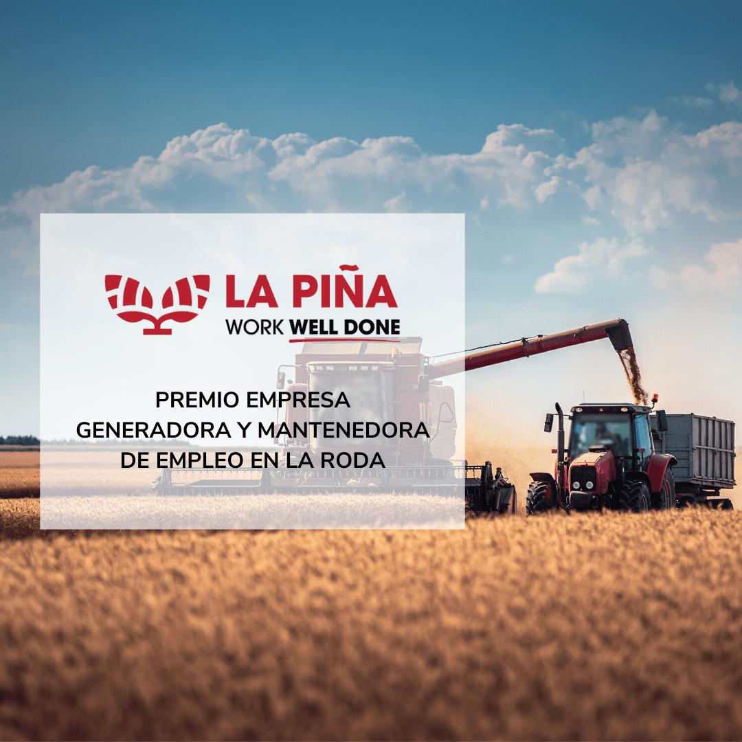 Premio Empresa Generadora y Mantenedora de Empleo en la localidad de La Roda